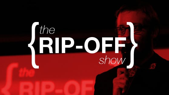 The new Rip-Off show pits comics against eachother in a battle of wits.