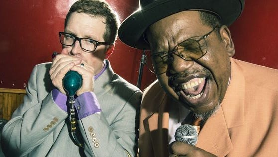 """Blues band The Cash Box Kings will celebrate the release of their Alligator Records debut, """"Royal Mint,"""" will a live performance at 2 p.m. on Sept. 17, 2017 at Renee's Red Rooster in Stevens Point."""