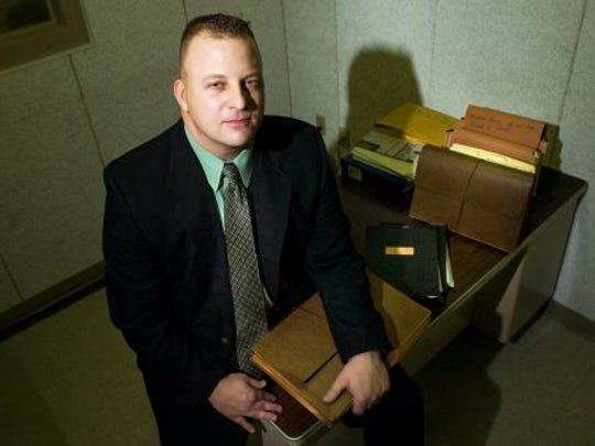 Cold case investigator: Pennsylvania State Trooper Scott Denisch.