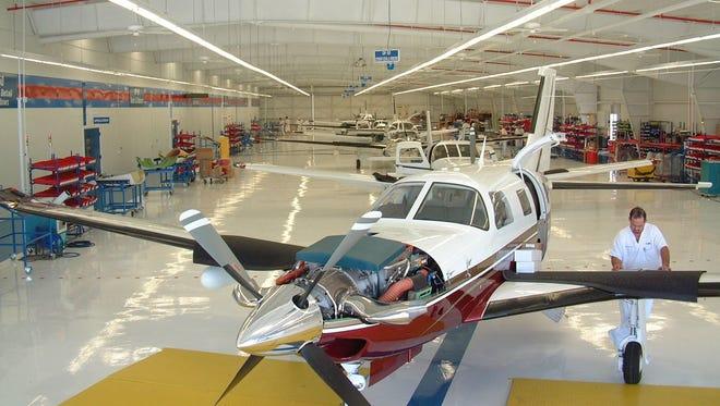 Vero Beach based aircraft manufacturer Piper announced staff layoffs Wednesday.