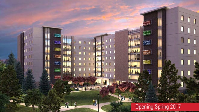 Construction of a new Iowa State University residence hall will begin in May.