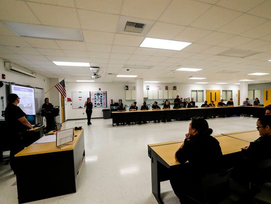 FMPD's CSI employees were at East Lee County High School