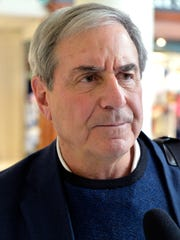 Rep. John Yarmuth, D-Ky., speaks with reporters during