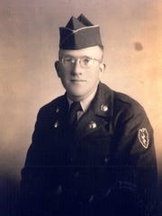 """Gardner resident Elias """"E.A"""" Wood, now 84, join the U.S. Army at 18. He was sent overseas to fight in the Korean War as part of the """"Wolfhounds"""" regiment of the 25th Infantry Division. He ran telecommunication wire for phones."""