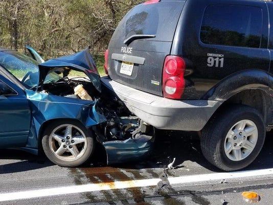 Hamilton cop crash