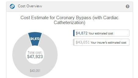 Cost estimator in the financial planner