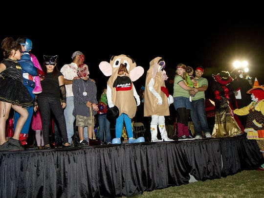 A costume contest will be part of the family fun at