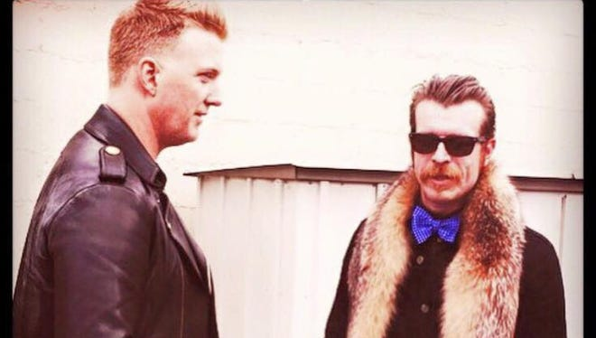 The Eagles of Death Metal.