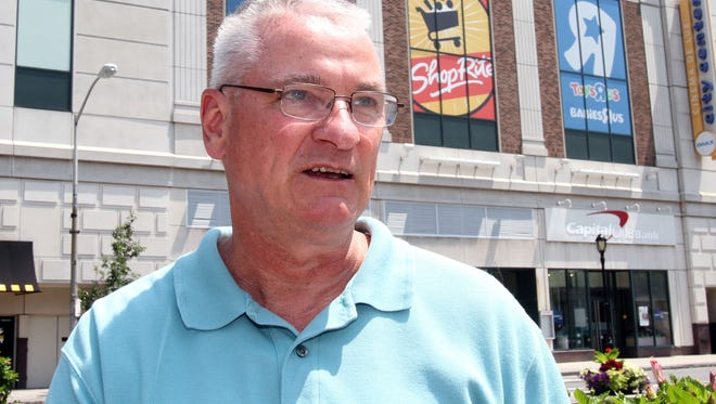 Alan Mahoney, of Somers, talks about the tensions between Israel and Hamas during an interview July 25, 2014, in downtown White Plains.