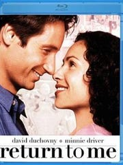 'Return to Me' stars David Duchovny and Minnie Driver.