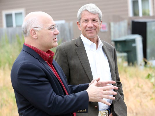 Congressman Kurt Schrader and Oregon Labor Commissioner Brad Avakian