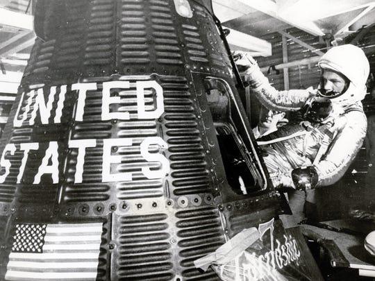FEBRUARY 20, 1962: John Glenn became the first U.S. astronaut to circle the globe in orbit.