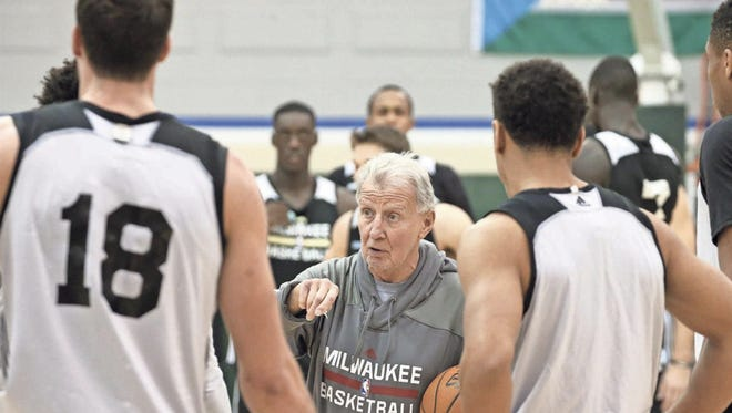 Bucks assistant coach Tim Grgurich cares about helping every player on the roster, from the superstars to the bench guys.