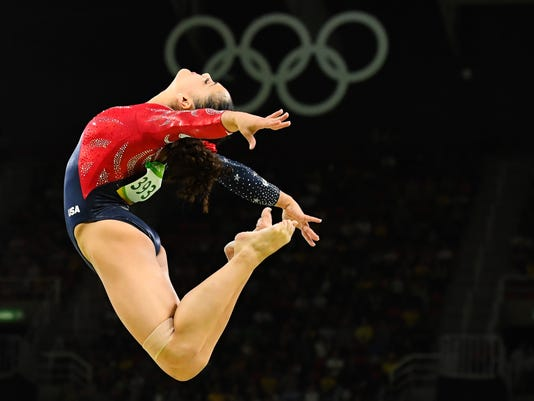 Nj Gymnast Laurie Hernandez Revels In Her First Olympics