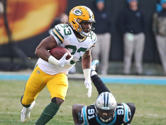 NFL: Green Bay Packers at Carolina Panthers
