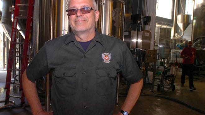 Dan Rogers, founder of Griffen Claw Brewery.