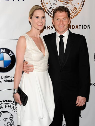 """Actress Stephanie March and chef Bobby Flay attend"