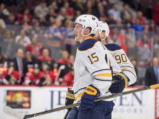 USP NHL: BUFFALO SABRES AT OTTAWA SENATORS S HKN CAN ON