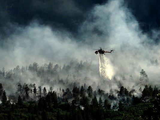 U.S. Air Force Academy Waldo Canyon Fire