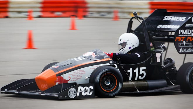 RIT Racing will unveil its newest racecar at the 2017 Imagine RIT; Festival on May 6, then compete in SAE Formula races in Michigan in May and Formula North in Ontario, Canada in June before heading to Budapest in July where they will be the only U.S. entrant in a field of 120 international collegiate teams.