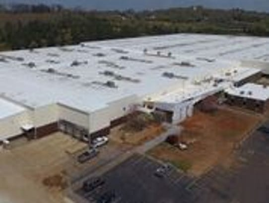 A recent aerial view shows Protomet's new factory in