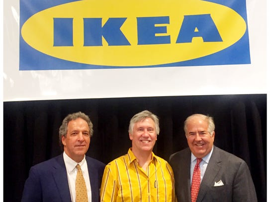 Bob Grimsley, real estate manager for the IKEA Nashville