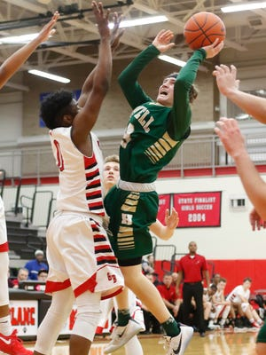 Howell's Johnny Shields was the Livingston Daily Player of the Year last season, averaging 14.8 points per game.