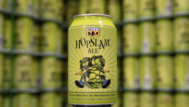 Bell's Brewery's Hopslam Ale double IPA releases in January 2017.