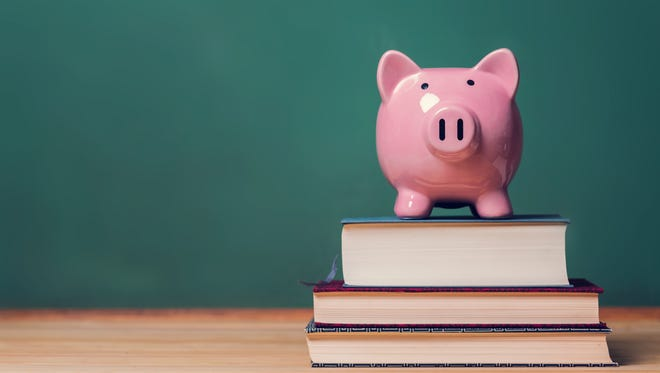 State aid is based on school district membership, property values and expenditures.