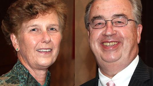 Joyce Sheridan, left, and her husband, John, died in a bizarre incident in their Skillman home in September 2014.