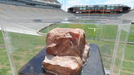 Clemson Football Howard's Rock : He was charged with felony malicious injury to personal property and misdemeanor trespassing.