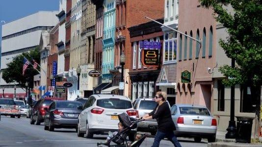 Downtown Poughkeepsie, file photo