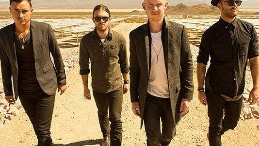 The Fray performs with Train and Matt Nathanson at 7 p.m. Saturday at Cynthia Woods Mitchell Pavilion in Spring, Texas.