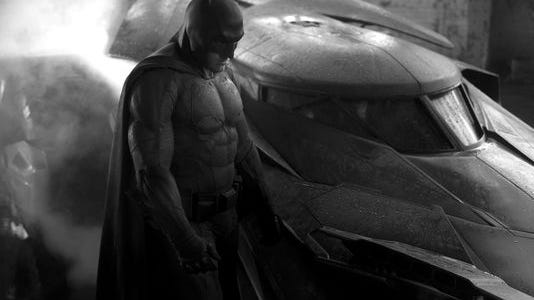 "Batman and Superman will appear live together on screen for the first time in ""Dawn of Justice."""