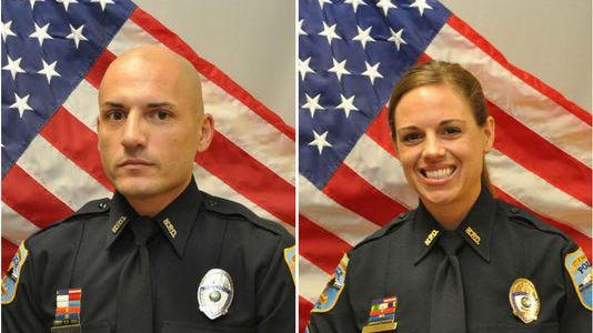 "Naples police Sgt. Amy Young, was shot in the face and Officer Luis ""David"" Monroig, 37, was shot and killed during a July incident in Estero."