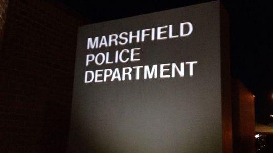 Marshfield police calls.