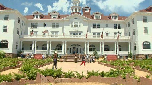 The Stanley Hotel is a historic building in Estes Park.