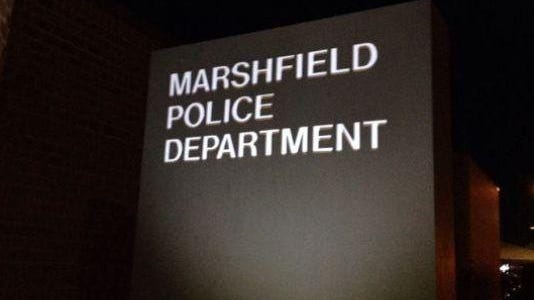 Police and ambulance reports for Marshfield.
