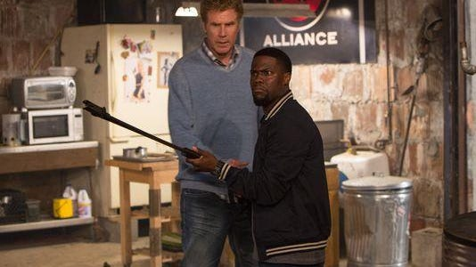 """Will Smith and Kevin Hart star in """"Get Hard,"""" a so-called comedy that was the antithesis of funny."""