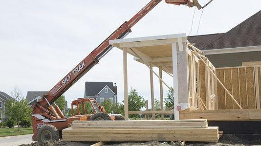 Canton's new construction boom is continuing its momentum.