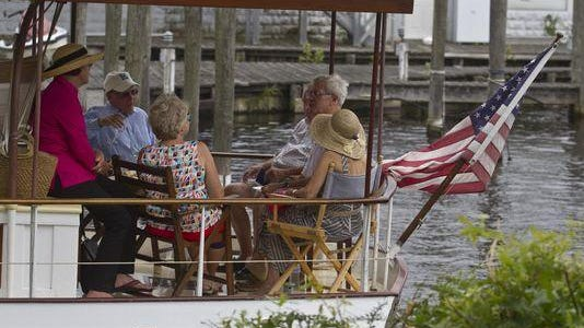 Toms River Seaport Society and Maritime Museum holds the annual Wooden Boat Festival in Huddy Park downtown.
