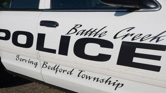 A Battle Creek police car.