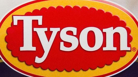 The Tyson Foods Inc. logo is seen on a package of prepared food.