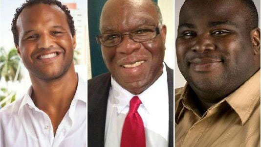 Candidates for the Ward 2 seat on Fort Myers City Council from left: Stephen Bienko, Johnny Streets and Anthony Thomas.