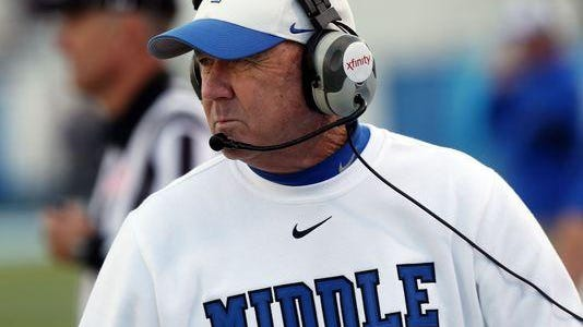 MTSU coach Rick Stockstill said his team has a bigger chip on its shoulder than new FBS participant Charlotte, which plays the Blue Raiders on Saturday.