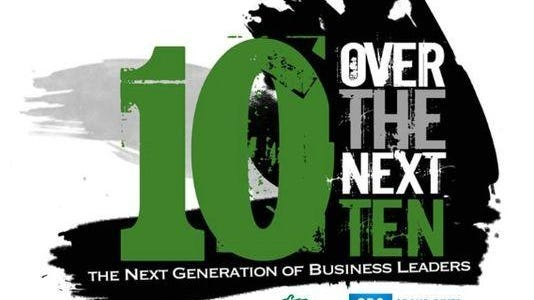 The 10 Over the Next 10 awards are a way for the Lansing Regional Chamber of Commerce to recognize 10 young professionals who are making a difference in their community.