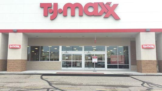 T.J. Maxx, shown here in another community, is building a new store in Canton.