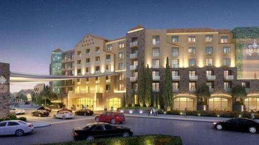A rendering of the $425 million Lago Resort & Casino project in Tyre, Seneca County.