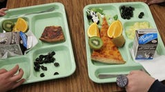 An Idaho school lunch worker was fired for giving a child a free meal. (Photo: AP)