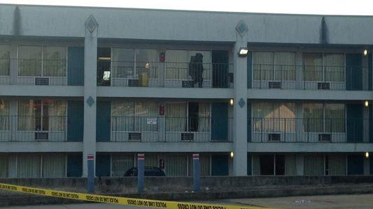 """Jackson police said a """"suspicious device"""" and components of a meth lab were found Wednesday in a motel room at the Scottish Inn on North Highland Avenue."""